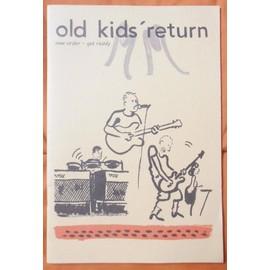 PLAN Média BANDE Dessinée 28 PAGES FORMAT 22.7X15.5 NEW ORDER GET READY OLD KIDS' RETURN