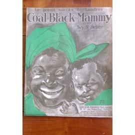 COAL-BLACK MAMMY piano-chant IVY S.HELIER