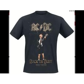 T-shirt ACDC Coton L Noir