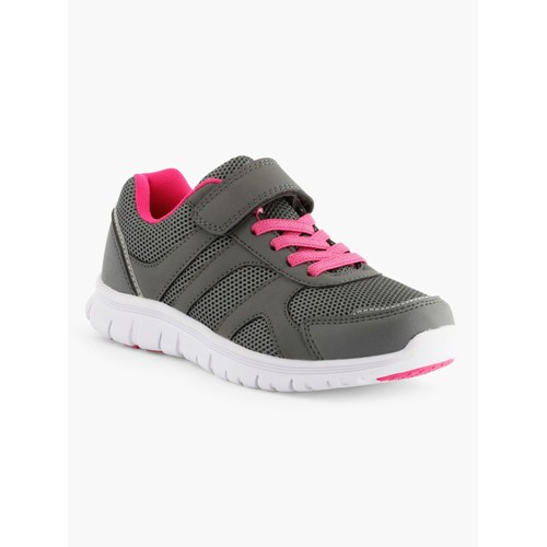<strong>Baskets</strong> basses running fantaisie enfant fille taille 28 rose gris