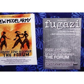 carte New Model Army Fugazi