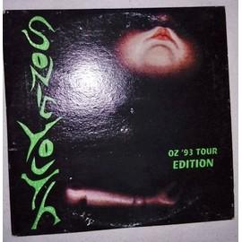 cd live Sonic Youth tournee Australie 93