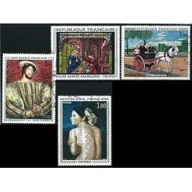 france 1967, belle série complète oeuvres d