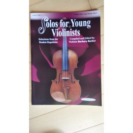 solos for young violinists, volume 2, Violin part and Piano Part