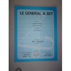 le général a dit (Joe Dassin)