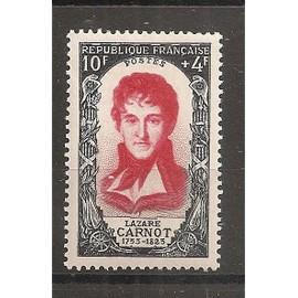 869 (1950) Célébrités Révolution de 1789 Lazare Carnot N* (cote 9e) (5470)