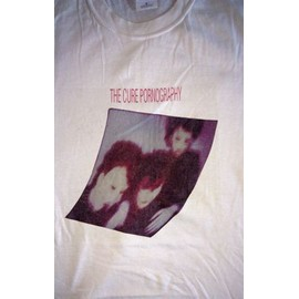 t-shirt Pornography The Cure