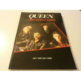 Queen Greatest Hits Off The Record