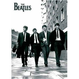 The Beatles Maxi Poster 61 x 91,5 cm Beatles In London, Black and White Photo Plastifié