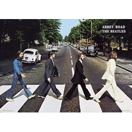 The Beatles Maxi Poster 91,5 x 61 cm Abbey Road Album Cover