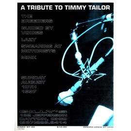 Reproduction d'art A Tribute to Timmy Tailor Frank Kozik 44 x 57 cm