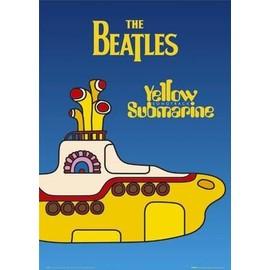 The Beatles Maxi Poster 61 x 91,5 cm Yellow Submarine Plastifié