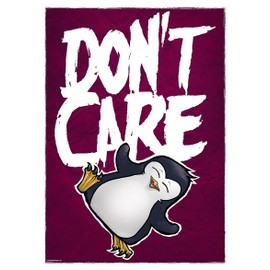 Psycho Penguin Mini Poster 32 x 44 cm Don't Care