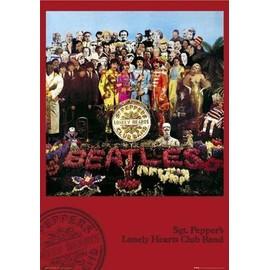 The Beatles Maxi Poster 61 x 91,5 cm Sgt. Pepper's Lonely Hearts Club Band Album Cover Plastifié