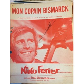 Partition Nino Ferrer Mon Copain Bismark