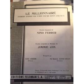 Partition Nino Ferrer Le Millionaire