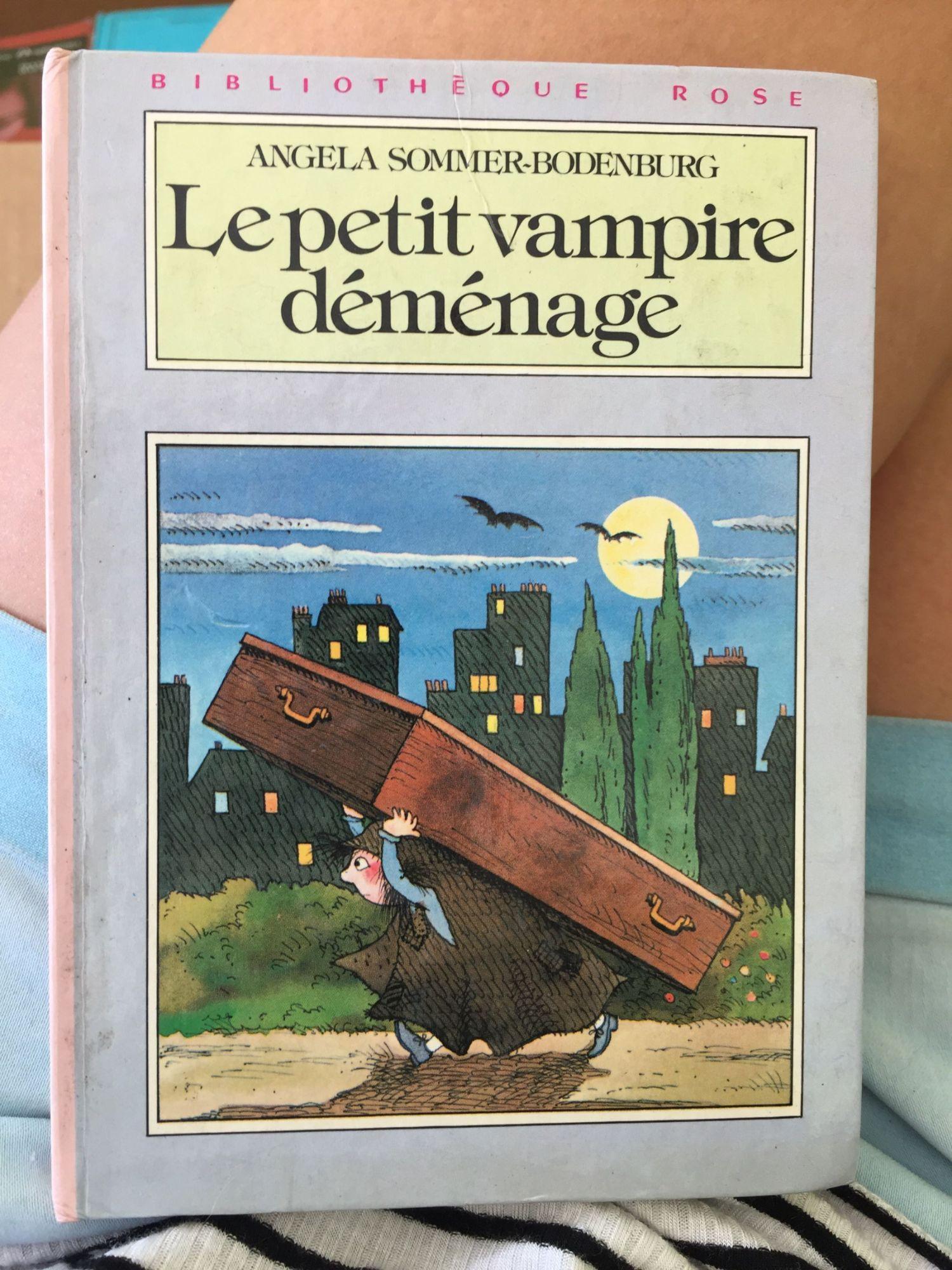 Le petit vampire déménage