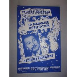 la mauvaise réputation (Georges Brassens)