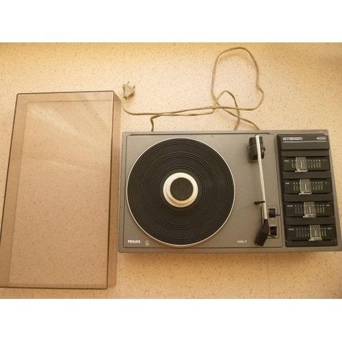 platine vinyle vintage philips