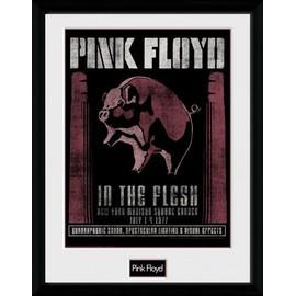 Pink Floyd Poster De Collection Encadré - 1977 (40x30 cm)
