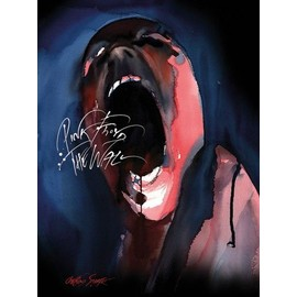 Pink Floyd Poster Reproduction Sur Toile, Tendue Sur Châssis - The Wall, Screamer (80x60 cm)