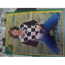 poster 40x60cm magazine SUPER GEANT aout 1973 GERARD LENORMAN
