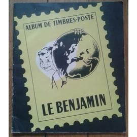 Classeur De Timbres-Poste Le Benjamin Album Philatélique Yvert et Tellier Amiens Format 23,3/27cm