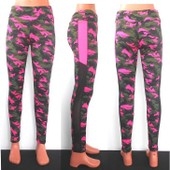 Promotion ♥ Leggings Pantalon Camouflage Femme Fille Sport Danse Fitness  Zumba Yoga Gym Running Survêtement 93329516b3c