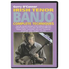 Irish tenor Banjo complete techniques DVD