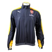 26c58437e7 Puma Arsenal Fc Stadium Vent Jacket Veste Coupe Vent Windbreaker De Football  Homme Gris Jaune Wind