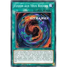 carte yu-gi-oh VOUIVRE AUX YEUX ROUGE GX06-FR002 NEUVE SUPER RARE