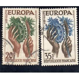 Timbres-poste de France (Europa 1957)
