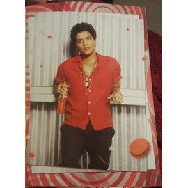 poster a4 bruno mars