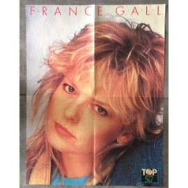 Poster France Gall / Phil Barney