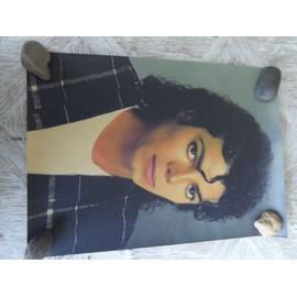 Poster Affiche Papier parchemin brun. Affiche photo rétro dimensions 42X30cm Michael JACKSON
