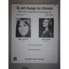 ils ont changé ma chanson (Melanie, Dalida)
