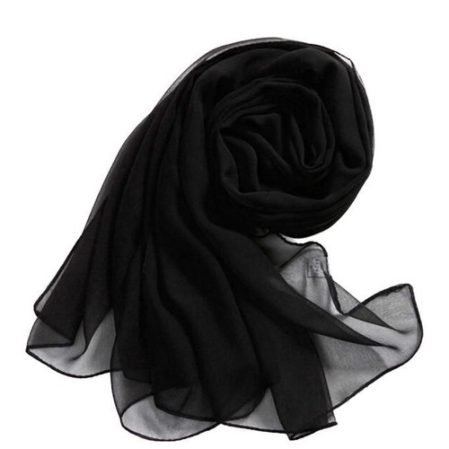 24b42101d06f  strong Echarpe  strong  de mousseline de soie châle dame femmes longues