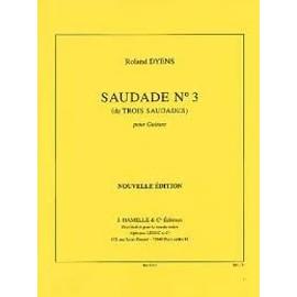 saudade n° 3 - extrait de trois saudades