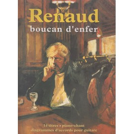 RENAUD SONG BOOK BOUCAN D'ENFER PREMIERE EDITION PIANO GUITARE