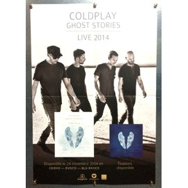 Plan Média Poster Format 58x40 Coldplay Ghost Stories Live 2014