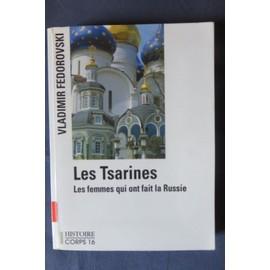 Les Tsarines - Vladimir Fédorovski