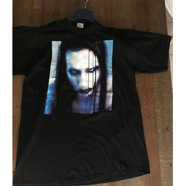 T-shirt Marilyn Manson, noir, manches courtes, The Long Hard Road Out Of Hell