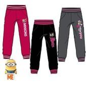 Pantalons Jogging Minions Despicable Pour Fille En Noir T  8 Ans Aph1546 d05f6ccaaab