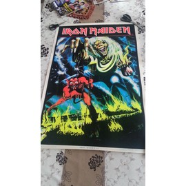 Poster Iron Maiden The number of the beast 1983