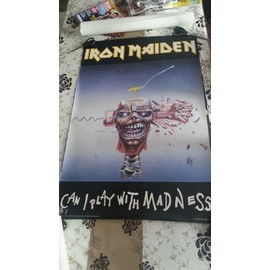 Poster Iron Maiden Can I play with madness 1988