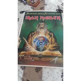 Poster Iron Maiden Seventh son of seventh son 1988