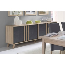 enfilade scandinave buffet d occasion. Black Bedroom Furniture Sets. Home Design Ideas