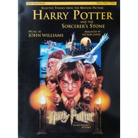 "alto saxophone "" solo-duet-trio "" selected themes from the motion picture Harry potter and the sorcerer's stone"