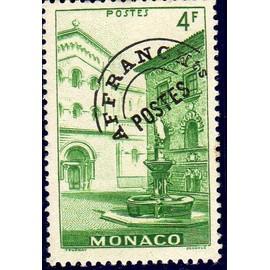 Timbre préoblitéré de Monaco (vue de la principauté)
