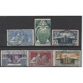 FRANCE 1924/1925: Série de 6 timbres du N° 210 au N°215 sur l